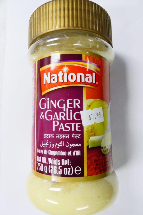 national ginger farlic paste