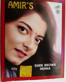 Henna Dark Brown Hair Color-Amir's