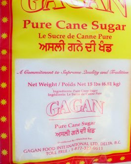 Sugar – Pure Cane 15lb 6.81Kg