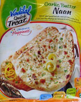 Paratha-Garlic Butter Naan Vadilal