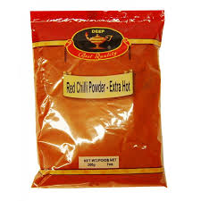Chilli Powder Hot  200g – Sher
