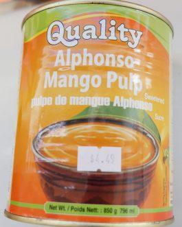 Mango Pulp (Alphonso)