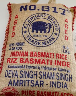 Basmati Rice -No. 817 -Elephant Rice 8.8lb 4Kg
