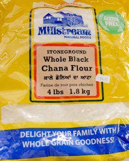 Chana Flour (Black Chana) Stoneground-Millstream 4lb 1.81Kg
