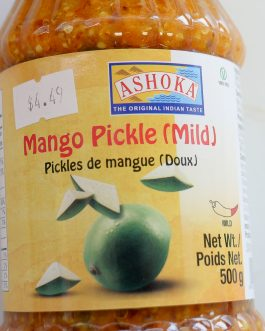 Mango Pickle (Mild)-Ashoka 500g