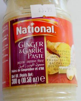 Ginger & Garlic Paste National 330g