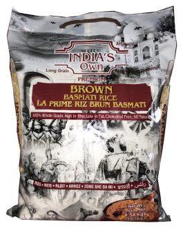 Rice- India's Own Brown Basmati Rice 10lb