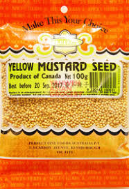 Mustard Seed Yellow 100g