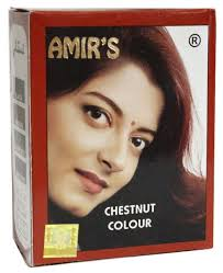 Hena -Chestnut Amir's Hair color