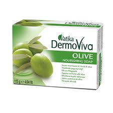 Dermoviva Soap -Vatika-(Olive)