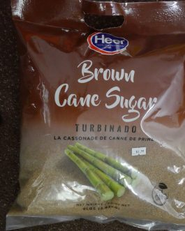Sugar – Brown Cane sugar -Heer 8lb
