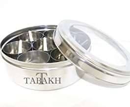Stainless steel spice Dabba