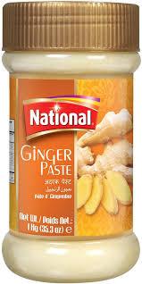 Ginger Paste-National 750g